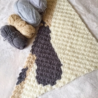 Crochet Graphgan Project - Pitter Patter Baby Blanket