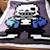 Sans Blanket- Step by Step | Comfy Cat Crochet