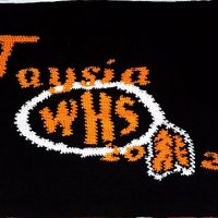 WHS School themed C2C blanket