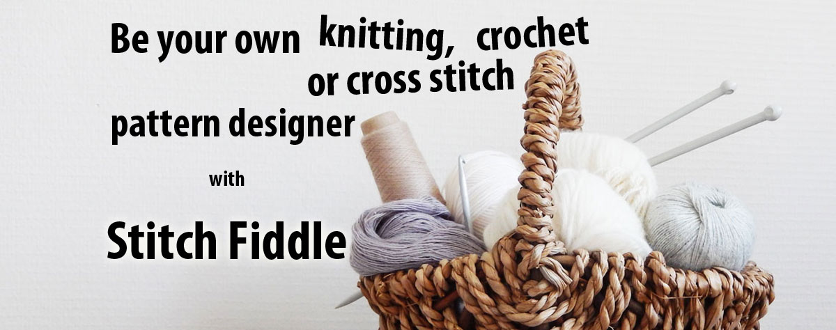 Create knitting chart | Stitch Fiddle