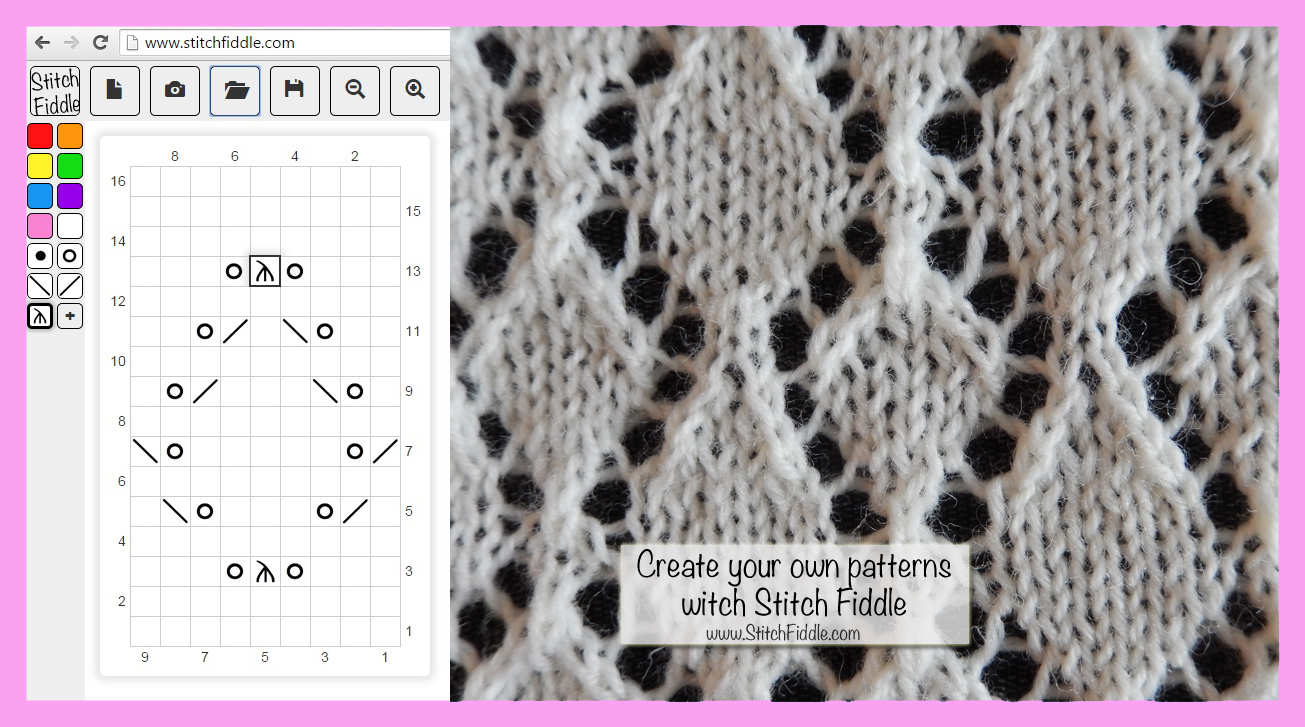 Make Your Own Knitting Pattern Chart : Create your own knitting chart pattern