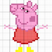 Peppa Pig - Stitch Fiddle