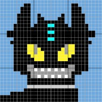 Toothless - Stitch Fiddle