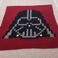 Darth Vader Corner to Corner Blanket | Going Slightly Mad