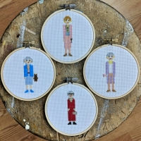29 of my favorite cross-stitch pieces (and the patterns for them!) | Puzzling Posts