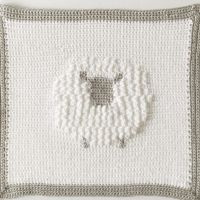 Crochet Sheep Baby Blanket | Daisy Farm Crafts