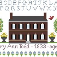 Mary Ann Todd 1833 Sampler - Free Cross Stitch Pattern - Susan O'Bryant