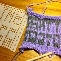 Designing Knitting Machine Punch Cards with StitchFiddle | Hacktastic