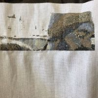 Working on a new project... #crossstitch #familyphoto #stitchfiddle