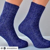 #Repost @dotsdabbles (@get_repost) ・・・ My Time Room socks are now available on Ravelry. Get a 20% discount using coupon code HP4EVER (valid until August 15th) Link in profile or use bit.ly/timeroom Sample was knit in @lanitiumexmachina Merino Sock Twist Time Room is a unisex sock pattern featuring Bavarian twisted stitches. It is knit cuff down with a Fleegle heel. This sock pattern was inspired by the time room from the Department of Mysteries as it is depicted in Harry Potter and the Order of the Phoenix when Harry and his friends go on a rescue mission to the Ministry of Magic. #socks #iloveknitting #knitstagram #instaknit #knittersofinstagram #knitting #knit #knitdesign #lanitiumexmachina #ravelry #knitallthesocks #ravelrypattern #stitchfiddle #dotsdabbles