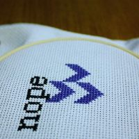 Next project, something nice and simple so i can stitch on auto pilot for a little while. . . . . . https://www.etsy.com/shop/misscrosswitch . #crossstitch #xstitch #crossstitching #xstitching #moderncrossstitch #modernxstitch #craft #makers #makersgunamake #craftersofinstagram #thread #dmcthread #embroideryhoop #embroidery #project #pattern #stitchfiddle #handmade #handsewn #sewing #scissors #etsy #etsyseller #misscrosswitch #nope #chevron