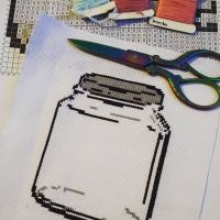What's going in the jar?? #crossstitch #cross_stitch #crossstitchersofinstagram #xstitching #xstitch #xstitcher #needlework #xstitchersofinstagram #subversivecrossstitch #stitch #stitchfiddle @stitchfiddle #floss #handmade #needleandthread