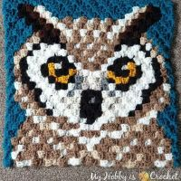 I'm happy to introduce you the Horned Owl C2C Square, block no. 13 of the Wildlife Graphghan CAL. So far, my husband's favorite animal c2c design of mine. What do you think? You can find the free pattern with row by row color count and graph on My Hobby is Crochet blog link in my profile. ... ... #crochet #freepattern #freecrochetpattern #c2c #c2ccrochet #c2csquare #cornertocornercrochet #cornertocorner #graphcrochet #graphgancrochet #c2cgraphghan #crochetcal #crochetalong #crochetaddicted #stitchfiddle #pixelcrochet #crochetersofinstagram #graphgancrochet #graphcrochet #WildlifeGraphghanCAL #WildlifeGraphghan #CAL2019 #myhobbyiscrochet #myhobbyiscrochetblog #myhobbyiscrochetpattern #redheartyarns #joycreators #redheartjoycreators
