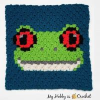 A new fun critter pattern for you! The Red-eyed Tree Frog 🐸 C2c Square - block 17 of the #WildlifeGraphghanCAL is up on the blog, link in my profile @myhobbyiscrochet :) The free pattern is available as written instructions + graph! I hope you enjoy! :) ...... ...... #crochet #freepattern #freecrochetpattern #c2c #WildlifeGraphghan #c2ccrochet #c2csquare #cornertocornercrochet #cornertocorner #WildlifeGraphghan #graphcrochet #graphgancrochet #c2cgraphghan #crochetcal #crochetalong #crochetaddicted #stitchfiddle #pixelcrochet #pixelart #myhobbyiscrochet #myhobbyiscrochetblog #myhobbyiscrochetpattern #redheartyarns #joycreators #crochetanimals #frog #crochetfrog