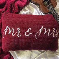 Mr. & Mrs. Pillow! . . This lovely request was from one of my most dearest friends @zeba_26 who wanted to gift something personalized for her sister's wedding! . . Comment below what you think? . . . . . #crochetgram #crochetlover #crochetfeed #crochetgirlgang #crochetersofig #tapestry #cushion #gift #handmadewithlove #handmade #kuwaitbusiness #kuwait #homedecor #yarnobsessed #yarnlife #yarnaddict #hooks #crochetlife #diy #crochetbusiness #crocheteverything #happyhooker #crochetgirlgang #diy #customize #bohemian #throwpillow ##craftastherapy #customisedgifts #customised #stitchfiddle
