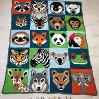 Have you followed along with the Wildlife Graphghan CAL? I really love how this huge blanket turned out! 😀 Get the free c2c animal blocks + tips & tricks + Video Tutorials for the c2c with the hdc and crisp color changes on the Wildlife Graphghan CAL page on my blog, link in my profile @myhobbyiscrochet . ... ... ... #crochet #freepattern #freecrochetpattern #c2c #c2ccrochet #cornertocorner #graphcrochet #graphgancrochet #c2cgraphghan #crochetcal #crochetalong #WildlifeGraphghan #WildlifeGraphghanCAL #WildlifeGraphghanCAL #myhobbyiscrochet #myhobbyiscrochetblog #myhobbyiscrochetpattern #redheartyarns #joycreators #redheartjoycreators #crochetersofinstagram #pixelcrochet #stitchfiddle #animalblanket #cutecrochet #crochetblanket