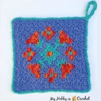 New on the blog: The Mandala Flowers Scrubby/ Potholder, made with Red Heart Scrubby yarn. You can use other cotton yarn also. There are 2 versions of the pattern available: one with 3 colors (as seen) and one with 4 colors. The free pattern comes as written instructions + graph and can be found on My Hobby is Crochet blog, link in my profile @myhobbyiscrochet . What colors would you make yours? .... .... .... .... .... #crochet #freepattern #freecrochetpattern #c2c #c2ccrochet #crochetscrubby #crochetpotholder #mandalaflowers #redheartyarns ##joycreators #redheartjoycreators #redheartscrubbyyarn #myhobbyiscrochet #myhobbyiscrochetblog #stitchfiddle #pixelcrochet #crocheterofinstagram