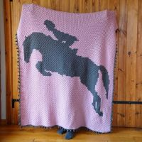 Horse Jumping c2c Blanket is ready! And yes, there will a pattern (don't ask me when... Hope this year 🥴). . A gift for my talented goddaughter @marysia_padalak, a real Champion 🏆🏆🏆 👏👏👏👏👏🐴🐴🐴🐴 . It's soft and warm, made entirely with merino wool! . I hope she will spend all the winter evenings, snuggling in her new blanket in her new 🏡. And dreaming of her 🐴 . Yarn: #DropsBabyMerino @dropsdesign . #pukapuka #crochetc2c #crochetblanket #crochetlapghan #crochetgraphgan #stitchfiddle #dropsfan #ourmakerlife #crochetsociety #wecrochet #craftastherapy #c2c #ilovecrochet #hakeln #hekle #horsejumping #crochethorse #crochê #crocheter #crochetersofinstagram #crochetallday #szydelkowykoc
