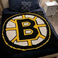 Goooo Bruins! Another custom order done and it feels good. . . . #nnchandmade #bostonbruins #nhlblanket #bostobbruinsblanket #stitchfiddle #graphgan #cornertocornercrochet #yarnspirations #yarncanada #michaels @yarncanada @yarnspirations @michaelsstores @nhlbruins