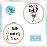 ***CHEERS TO THE FREAKING WEEKEND*** . Wine or prosecco anyone? If you're stuck between the two, WINE NOT have both? . New pattern listing now up on my Etsy shop. Follow the link in my bio. . Your support would mean the world to me while I'm on a leave of absence from my studies 🥰🥰🥰 . Patterns made on @stitchfiddle . #craftsbycai #craftbycai #pointducroix #crossstitchcreatives #crossstitch #crossstitchersofinstagram #crossstitching #crossstitchaddict #crossstitcher #xstitchersofinstagram #xstitchpattern #crossstitchpattern #etsysellersofinstagram #etsyukseller #etsyuk #stitchfiddle #queercrafter #queercrafts #queercrossstitch #shopsmallbusiness #smallbusinessuk #irishcrafter #indieshop #indiebusiness