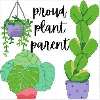 By popular vote, here's the 'proud plant parent' pattern with backstitch. Planning to put this pattern in my shop later this week. . . . . . Patterns made on @stitchfiddle . #proudplantparent #plantparent #plantparenthood #plantsmakepeoplehappy #craftsbycai #craftbycai #pointducroix #crossstitchcreatives #crossstitch #crossstitchersofinstagram #crossstitching #crossstitchaddict #crossstitcher #xstitchersofinstagram #xstitchpattern #crossstitchpattern #etsysellersofinstagram #etsyukseller #etsyuk #stitchfiddle #queercrafter #queercrafts #queercrossstitch #shopsmallbusiness #smallbusinessuk #irishcrafter #indieshop #indiebusiness
