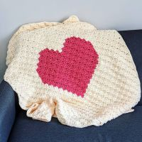 Finished up this Heart Corner to Corner blanket last night. 💗💗 This is the third heart blanket I've made using my own graph that I created on Stitch Fiddle. Stitch Fiddle is an awesome site where you can create anything for crochet, cross stitch, or knitting. You can design C2C graphs, graphgans, pixel crochet, tunisian colorwork, tapesty, filet crochet, etc. So many options! My regular photography space isn't big enough to really showcase afghans, but the lighting isn't the best in other areas of the house. I tried my best this morning using the sun shining in and the pics came out pretty well. What are your tips for photographing larger pieces? 📸 #crochet #jillrcrochet #etsy #etsyseller #heartblanket #heartafghan #cornertocornercrochet #c2ccrochet #heart #babyblanket #stitchfiddle #blanket #crochetblanket #crochetafghan #babycrochet #crochetgift #photographytips