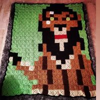 Official Finish Date: June 10th 2021 Start Date...I'd guess somewhere in Mid Jan...lol Yes long long time But finally done.! #Disney #DisneyVillains #Scar #LionKing #Crochet #CrochetBlanket #Pixel #PixelBlanket #StitchFiddle #Villain #OneofaKind #LongLiveTheKing #CrochetHook #Blanket #MadeWithLoveInEveryStitch