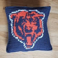 Daaaa Bears!! 🐻 I finally learned how to use stitch fiddle and now can create my own pillow cover patterns!! I have a bunch of ideas ready to go! Super excited to play around some more with it! #stitchfiddle #stitchfiddlecrochet #crochetpillows #crochetersofinstagram #crocheteveryday #crochetpillowcover #crochetaddict #crochet #crochetpillow #crochetlove #craftbiz #craftygirl #crafts #crafting #craft #bears #chicago #chicagobears #beardown #dabears