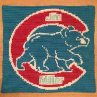 Cubs wall hanging