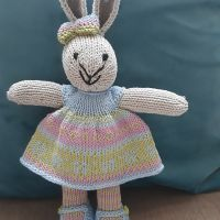 spring fairisle dress