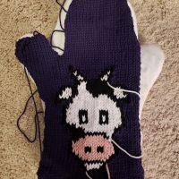 Paul's Cow Oven Mitts