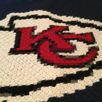 KC Chiefs Logo Blanket