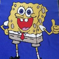 Spongebob blanket