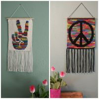 Hippy Dippy wall hangings