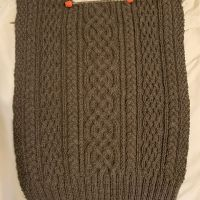 My First Cable-Knit Sweater!